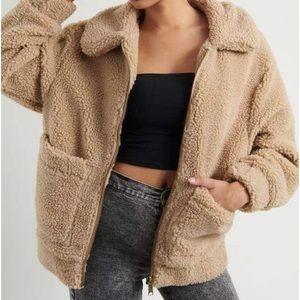 Teddy coat NWOT